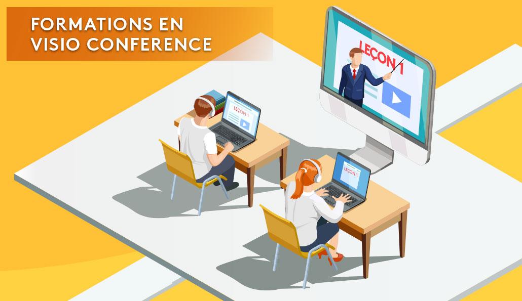 Formation en visio conférence